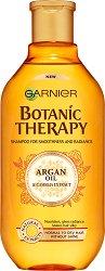 Garnier Botanic Therapy Argan Oil & Camelia Extract Shampoo - Шампоан за нормална до суха коса без блясък с арганово масло и екстракт от камелия - шампоан