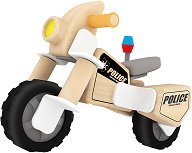 Полицейски мотор - Детски дървен конструктор - играчка