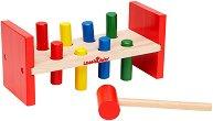 Наковалня с чукче - Детска дървена играчка - играчка