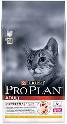 Purina Pro Plan Optirenal Chicken Adult - Суха храна с пилешко месо за котки на възраст над 1 година - чували от 1.5 kg и 10 kg -