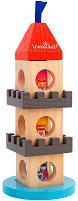 Средновековна кула - Детски дървен конструктор -