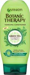 Garnier Botanic Therapy Green Tea & Eucalyptus & Citrus Conditioner - Тонизиращ балсам за нормална, склонна към омазняване коса със зелен чай, евкалипт и цитрус - шампоан