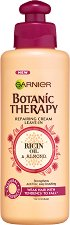Garnier Botanic Therapy Ricin Oil & Almond Repairing Cream - Възстановяващ крем за слаба коса, склонна към накъсване с масла от рицин и бадем - балсам