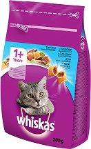 Whiskas Dry Tuna 1+ Years - Суха храна с риба тон за котки на възраст над 1 година - чували от 300 g ÷ 14 kg -