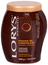 Lorys Professional Hair Cream Chocolate Mousse & Keratin - мляко за тяло