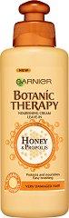 Garnier Botanic Therapy Honey & Propolis Nourishing Cream - Подхранващ крем за увредена коса с цъфтящи краища с мед и прополис - гел
