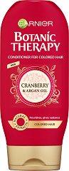 Garnier Botanic Therapy Cranberry & Argan Oil Conditioner - Балсам за боядисана коса с червена боровинка и арганово масло -