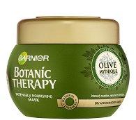 Garnier Botanic Therapy Olive Mytique Intensely Nourishning Mask - Маска за суха и увредена коса с маслиново масло - маска