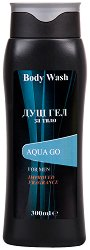 Aqua Go Body Wash For Men - Освежаващ душ гел за мъже -