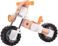 Трансформиращ се мотор - Детски дървен конструктор - играчка