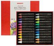 Маслени пастели с металиков ефект - Комплект от 24 цвята