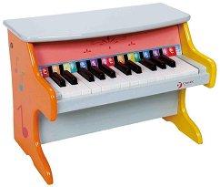 Пиано - Детски дървен музикален инструмент -