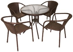 Комплект градински мебели - Вито 4125B - Имитация на ратан