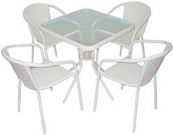Комплект градински мебели - Вито 4125A - Имитация на ратан