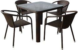 Комплект градински мебели - Вито 341-1 - Имитация на ратан