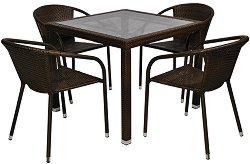 Комплект градински мебели - Вито 156-1 - Имитация на ратан