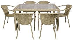Комплект градински мебели - Вито 156-2 - Имитация на ратан
