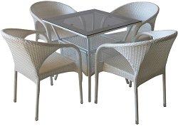 Комплект градински мебели - 290-45-1 - Имитация на ратан