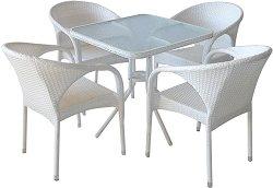 Комплект градински мебели - 290-4125A - Имитация на ратан