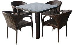 Комплект градински мебели - 290-341-1 - Имитация на ратан
