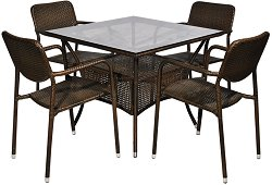 Комплект градински мебели - 214-45-1 - Имитация на ратан
