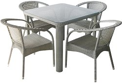 Комплект градински мебели - 220-341-1 - Имитация на ратан