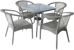 Комплект градински мебели - 220-4125A - Имитация на ратан