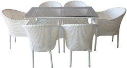 Комплект градински мебели - 350-45-2 - Имитация на ратан