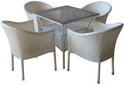 Комплект градински мебели - 350-45-1 - Имитация на ратан