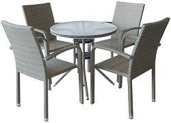 Комплект градински мебели - 59-4125B - Имитация на ратан