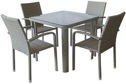 Комплект градински мебели - 59-341-1 - Имитация на ратан