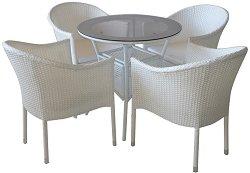 Комплект градински мебели - 350-46-1 - Имитация на ратан