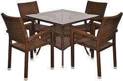 Комплект градински мебели - 98-45-1 - Имитация на ратан