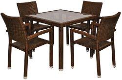 Комплект градински мебели - 98-156-1 - Имитация на ратан