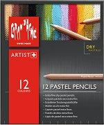 """Пастелни моливи - Комплект от 12 цвята от серията """"Artist"""""""