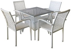 Комплект градински мебели - 59-2-45-1 - Имитация на ратан
