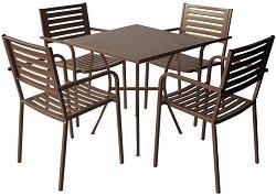Комплект градински мебели - AM-C015-141-1