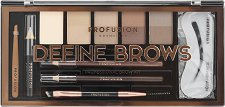 "Profusion Cosmetics Artistry Collection Define Brows - Палитра за оформяне на вежди от серията ""Artistry Collection"" - дезодорант"
