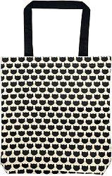Текстилна чанта за книги - За любителите на котки -