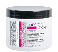 Design Look Professional Color Care Mask - Маска за боядисана коса със златни и диамантени наночастици - масло
