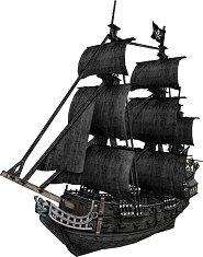 Кораб - Отмъщението на кралица Анна - 3D пъзел - пъзел