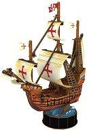 Кораб - Санта Мария - 3D пъзел - пъзел