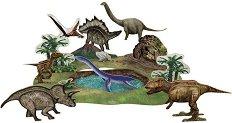 """Динозаври - 3D пъзел от колекцията """"National Geographic Kids"""" -"""