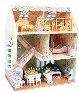 Къща - Мечта - 3D пъзел от картон -
