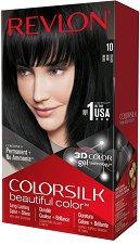 Revlon ColorSilk Beautiful Color - Безамонячна трайна боя за коса - четка