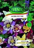 """Семена от Аквилегия - микс от цветове - Опаковка от 0.5 g от серия """"Ивесто"""""""