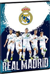 Ученическа тетрадка - Real Madrid : Формат А4 с широки редове - 40 листа - продукт