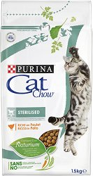 Cat Chow Sterilised Adult with Chicken - Суха храна с пилешко месо за кастрирани котки в зряла възраст над 1 година - чували от 1.5 kg и 15 kg - продукт