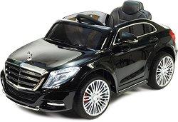 Детска акумулаторна кола - Mercedes S-class - Комплект с дистанционно управление - играчка