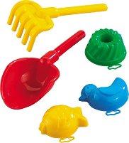 Комплект за игра с пясък - Детски играчки - играчка